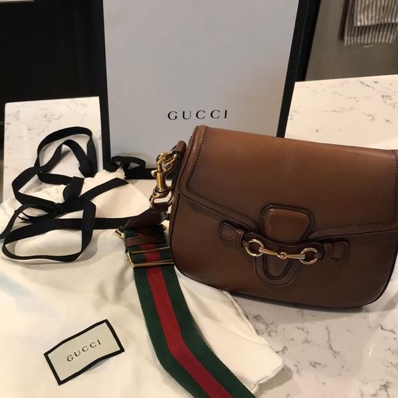 Gucci Handbags - Authentic Gucci Crossbody Lady Web  1450 f1baab47f0ccd
